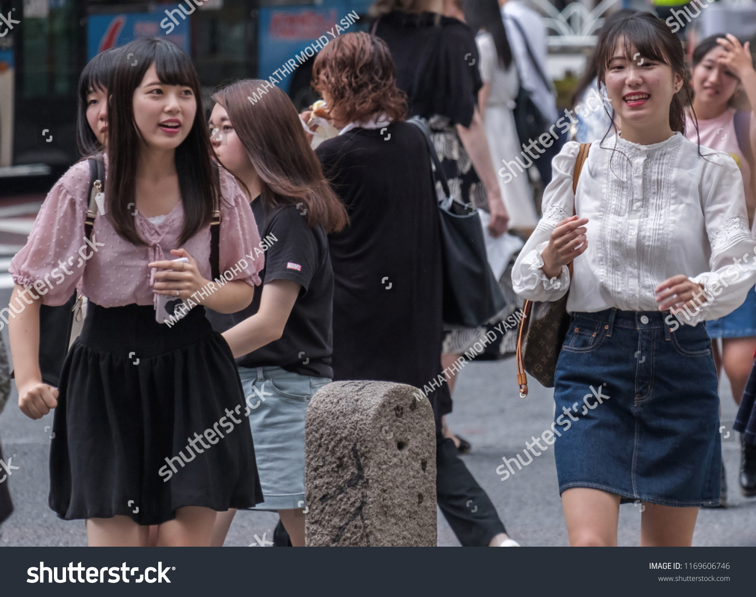 The japanese teens from tokyo