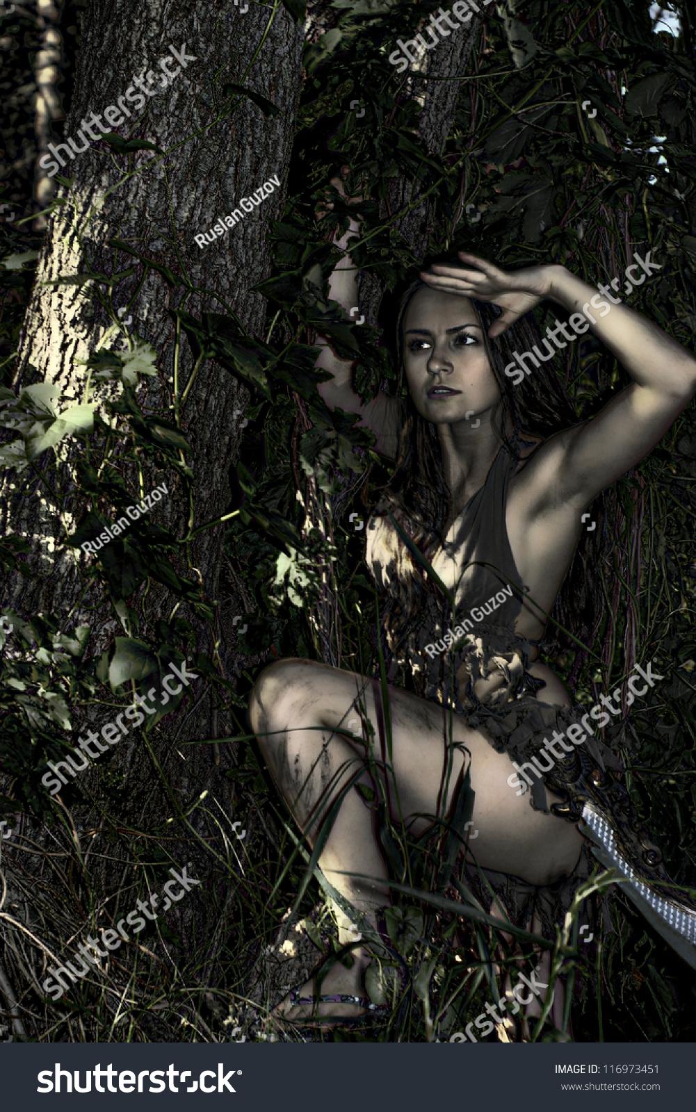 girl in loincloth stock - photo #27