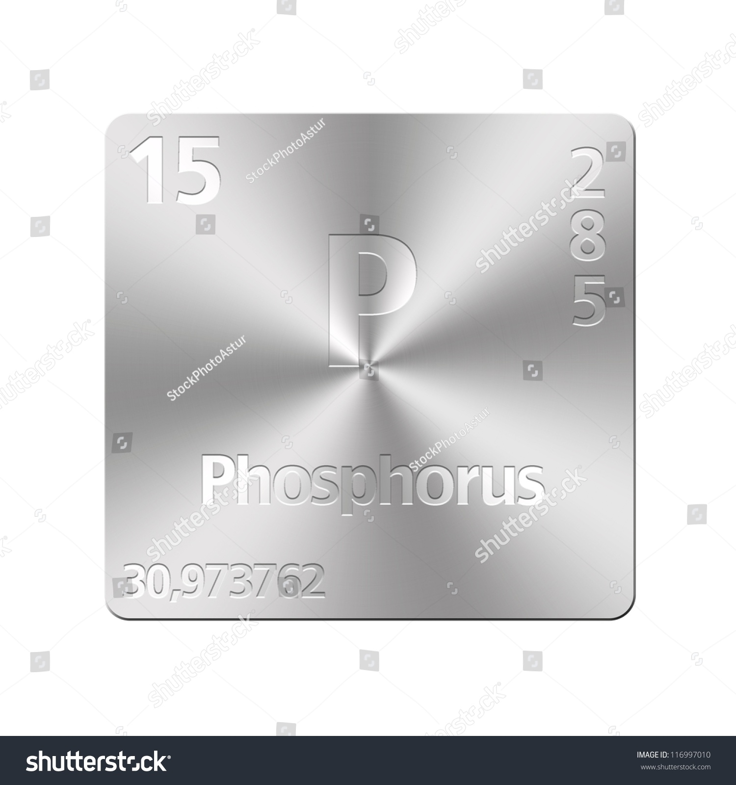 Isolated metal button periodic table phosphorus stock illustration isolated metal button with periodic table phosphorus gamestrikefo Image collections