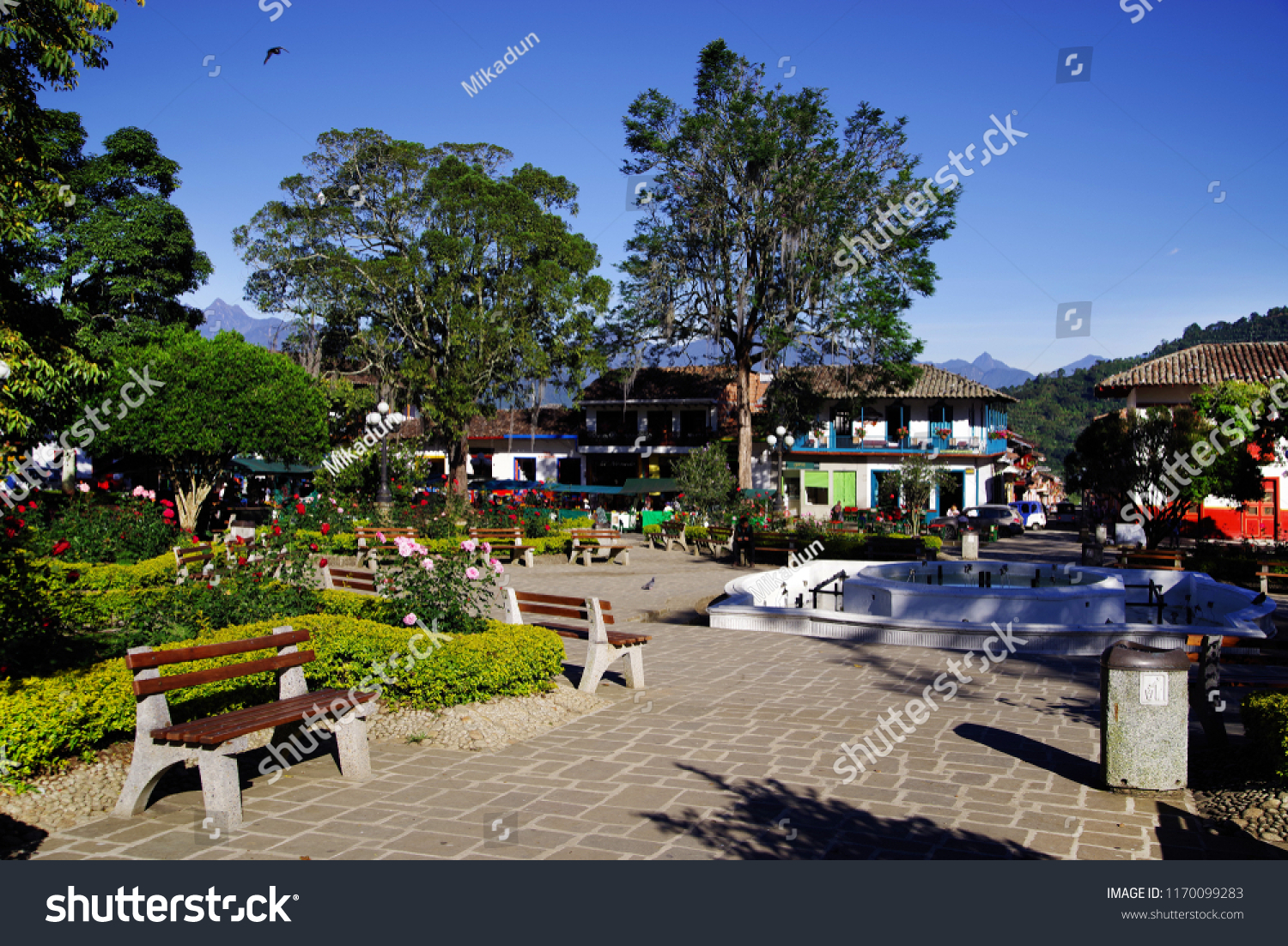 Jardin Colombia August 14 2018 Trdaitional Stock Photo Edit Now