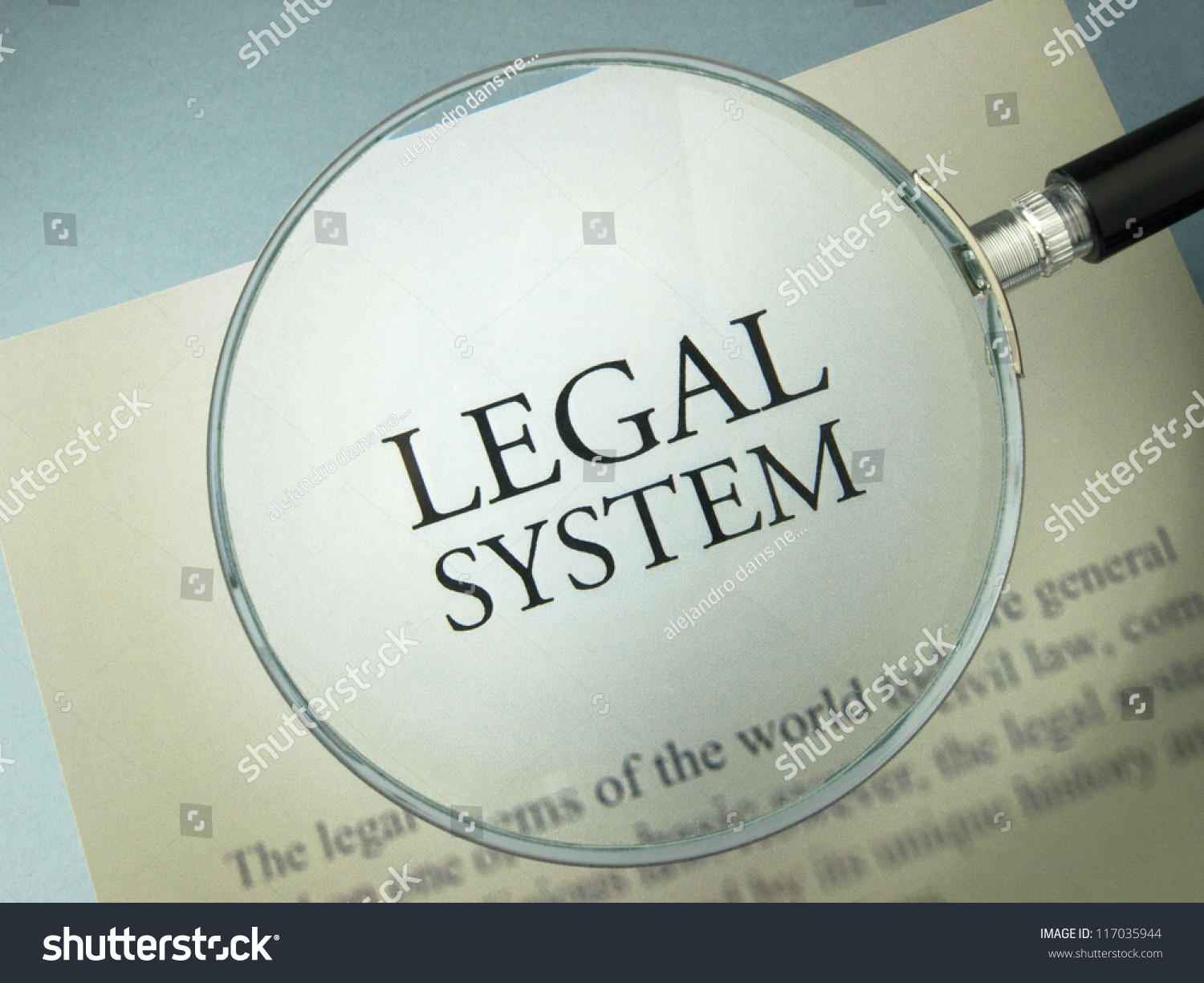 Legal Systems Stock Photo 117035944 - Shutterstock