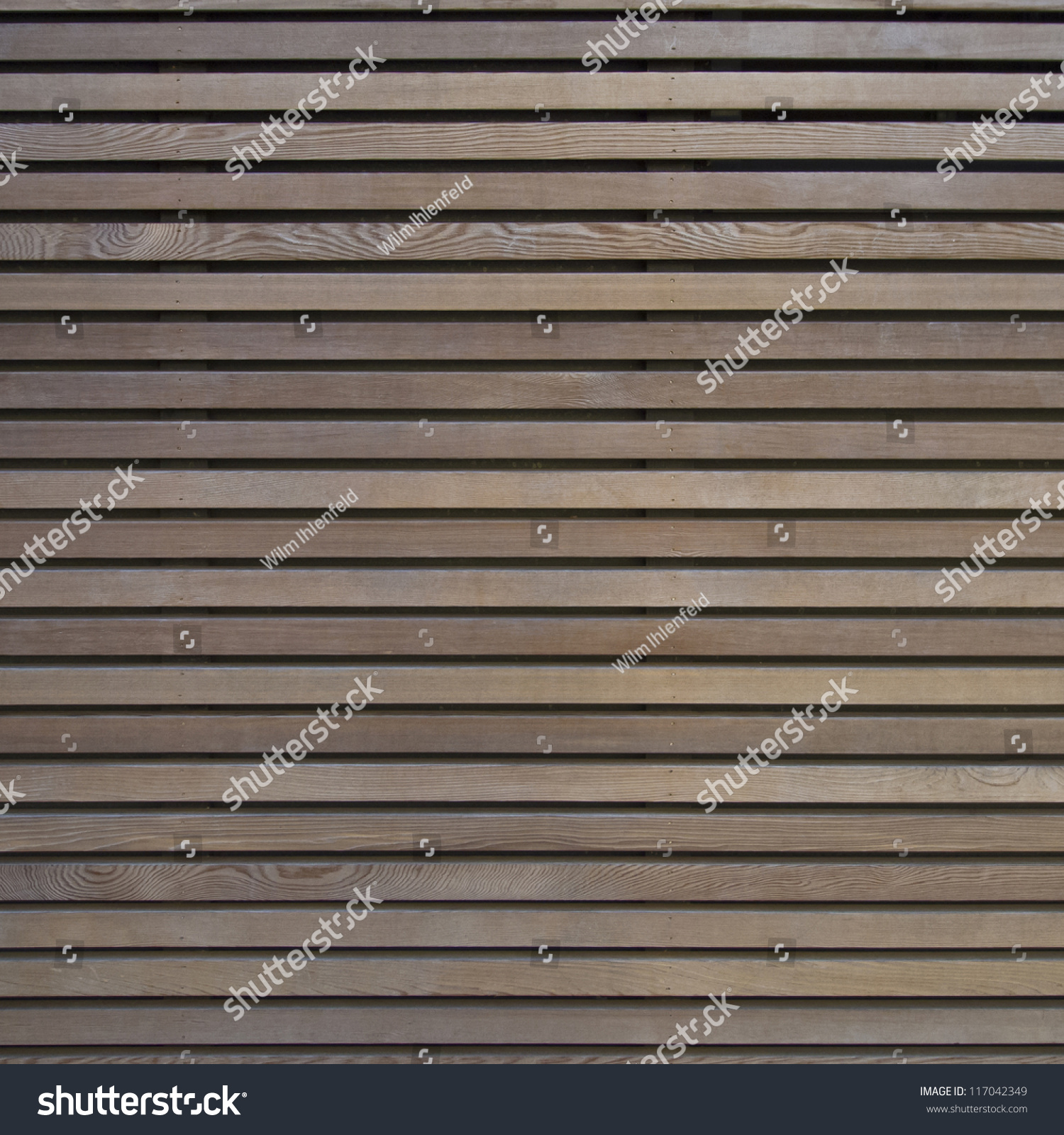 Modern Architecture Facade Detail Showing A Wooden Wall