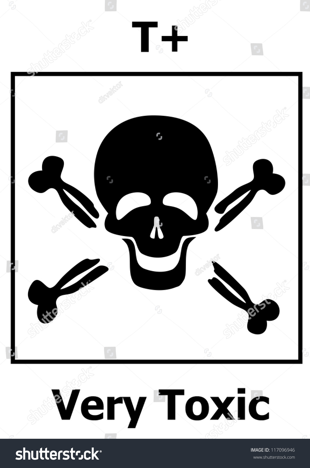 Hazard symbol very toxic stock vector 117096946 shutterstock hazard symbol very toxic biocorpaavc Images