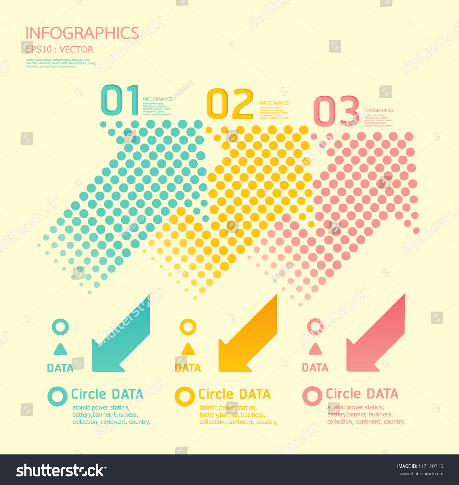 Website soft colors - Dots Arrows Soft Color Can Be Used For Infographics Numbered Banners Graphic Or
