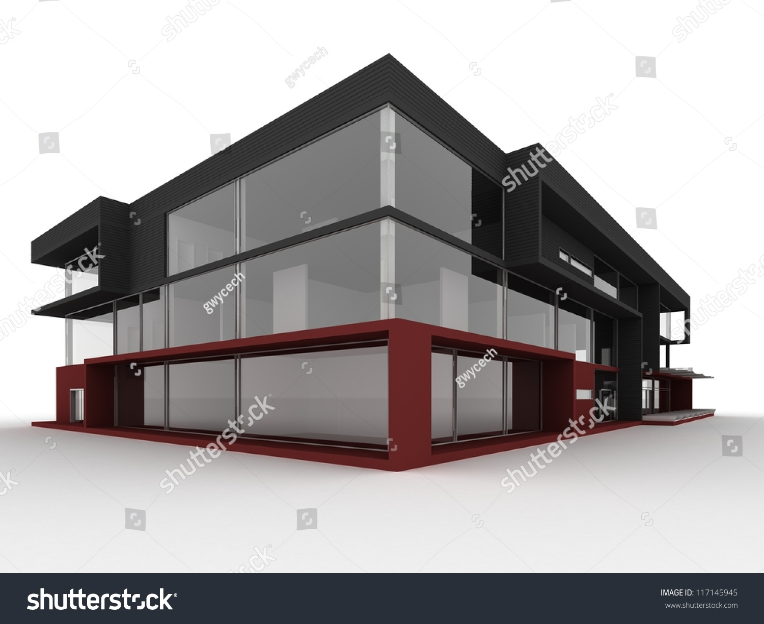 Small office design modern building pictures to pin on for Modern small office building design