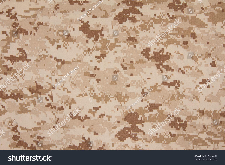 us marine desert marpat digital camouflage stock photo