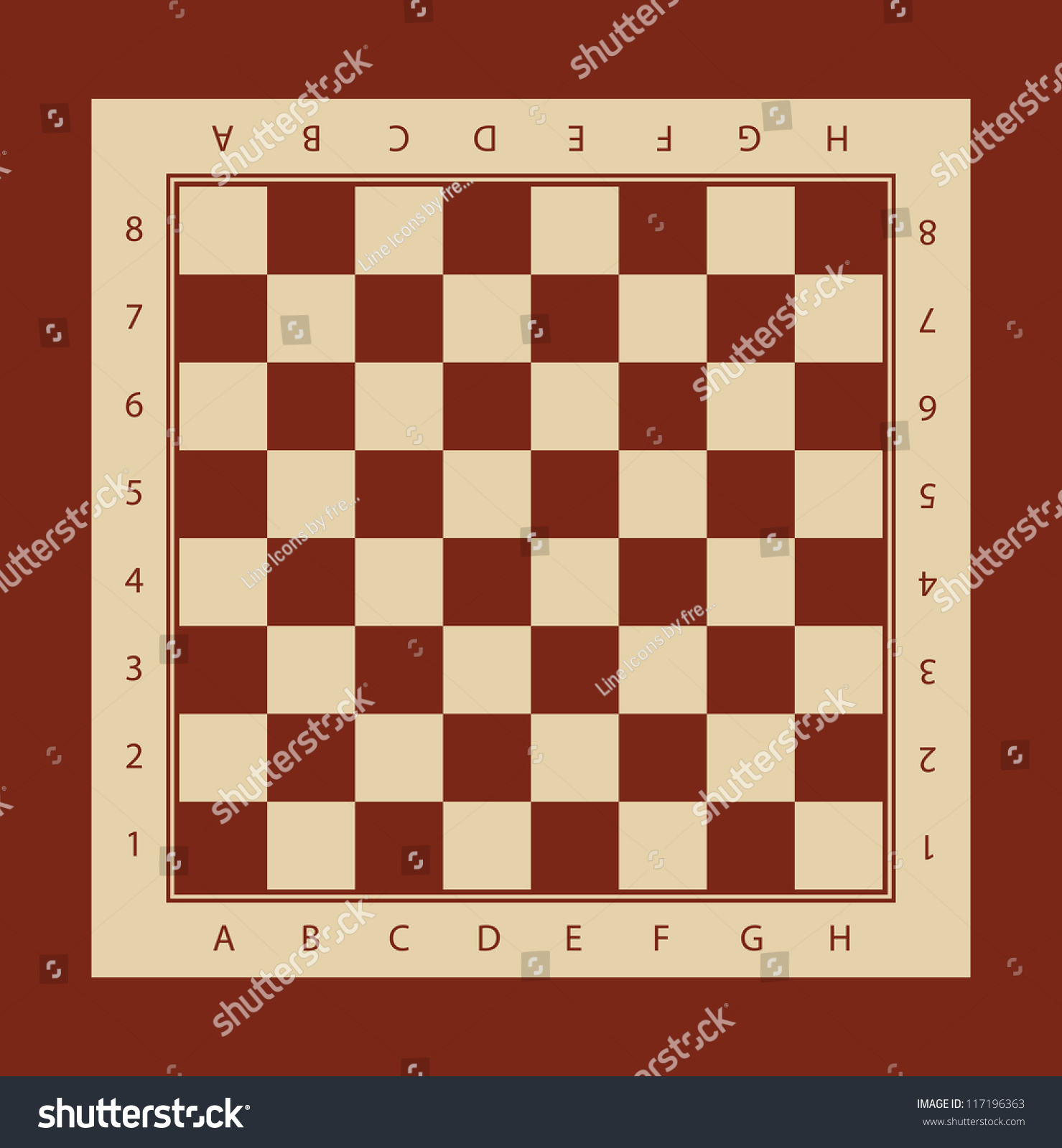 This is a photo of Dynamite Printable Chess Board