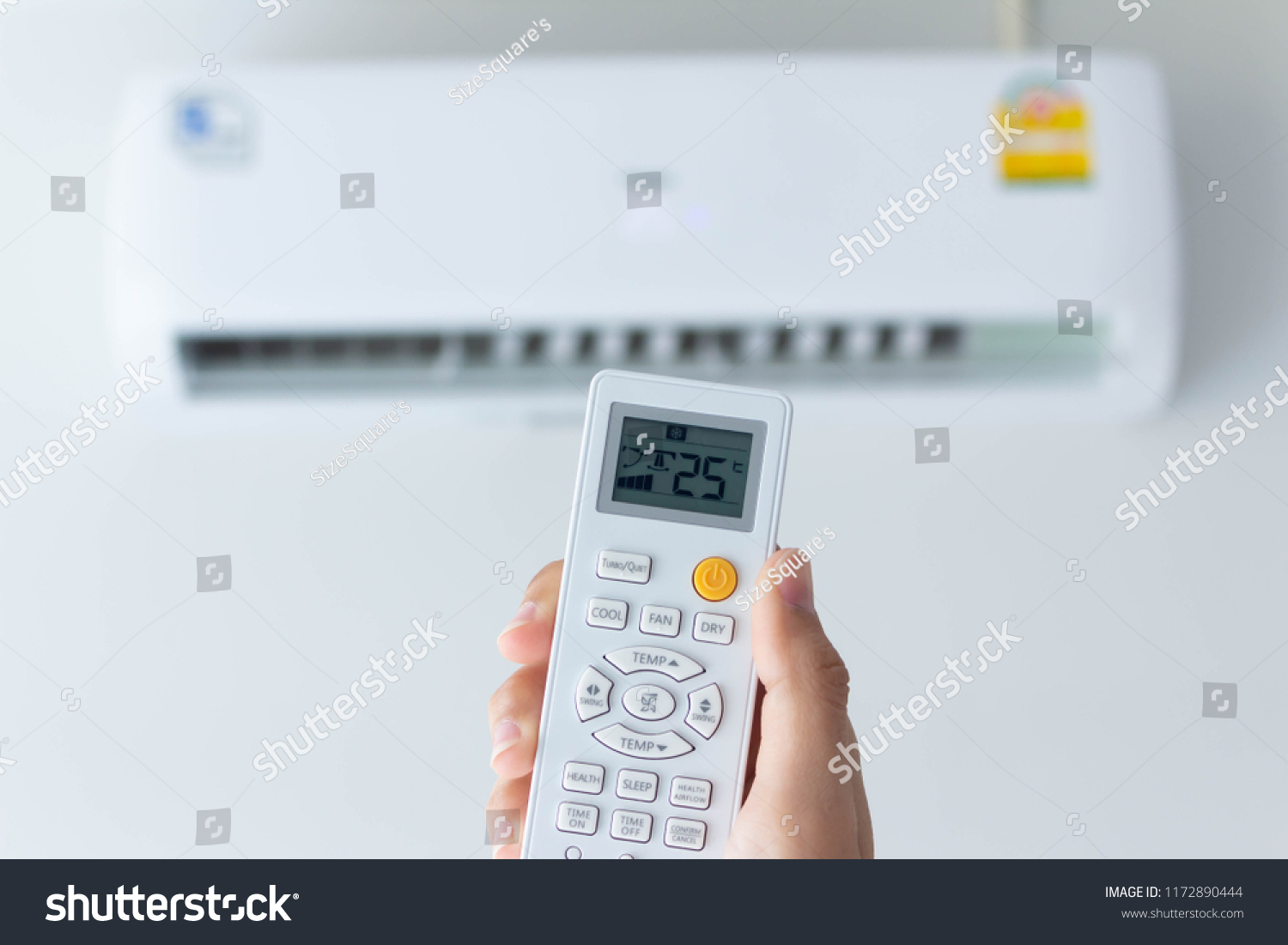 Energy Saving Air Conditioner Presetting Temperature Stock