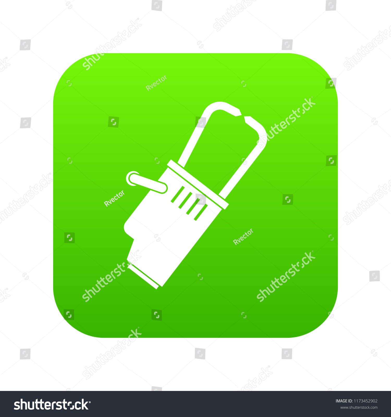 Welding Equipment Icon Digital Green Any Stock Illustration Diagram For Design Isolated On White
