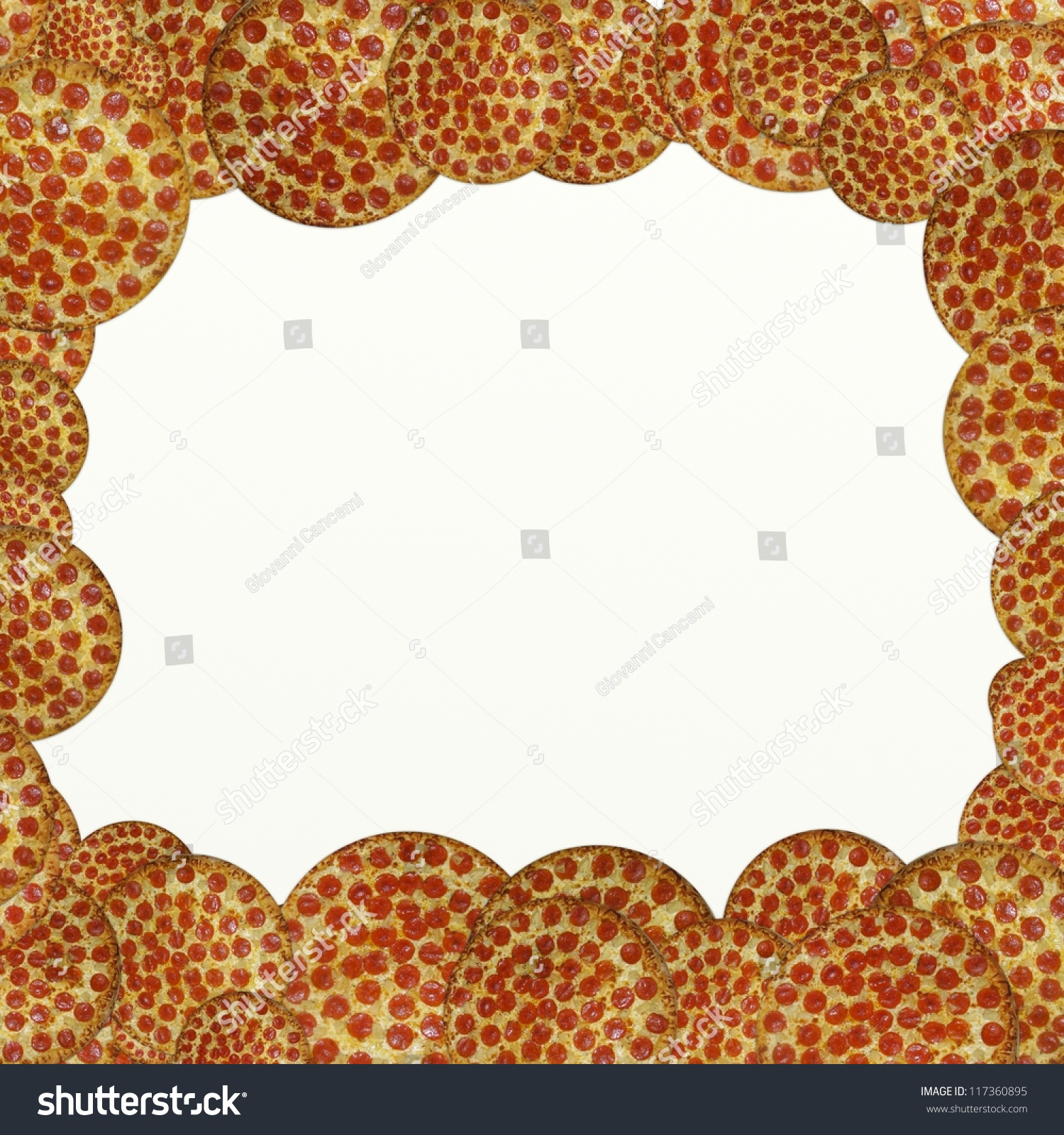 Background Pizza Stock Illustration 117360895 Shutterstock