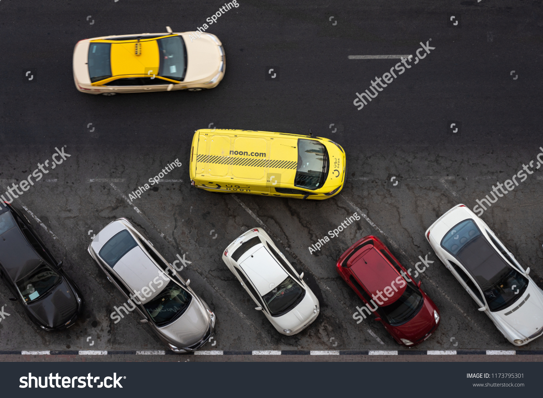 Dubai Uae August 2018 Van Car Stock Photo (Edit Now) 1173795301