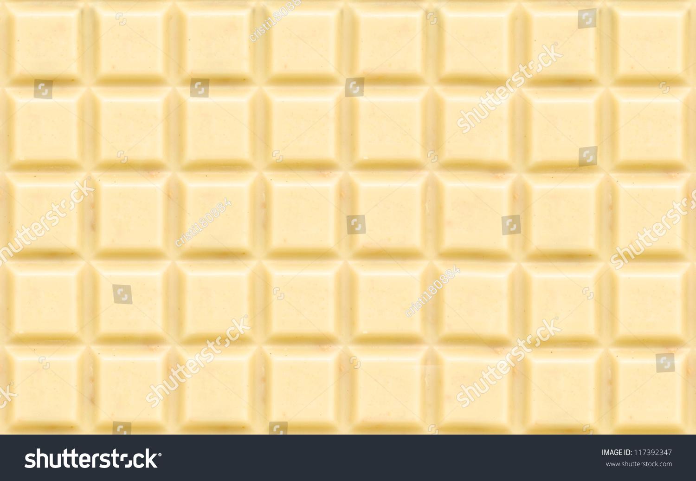 White Chocolate Background Texture Detail Stock Photo