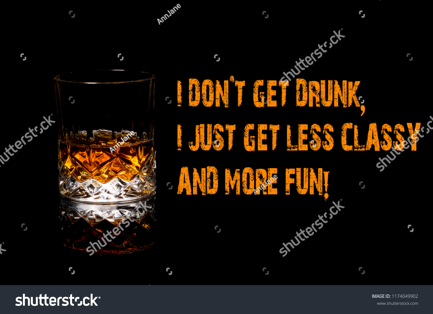 Whiskey funny meme i dont get drunk i just get more fun