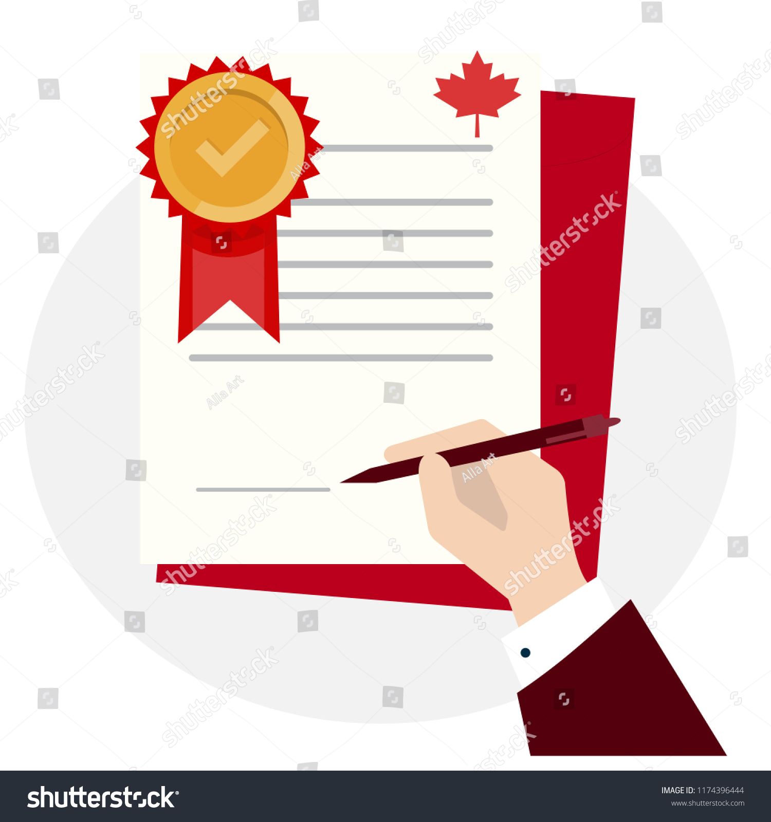 Canadian Standard Quality Control Certification Assurance Stock