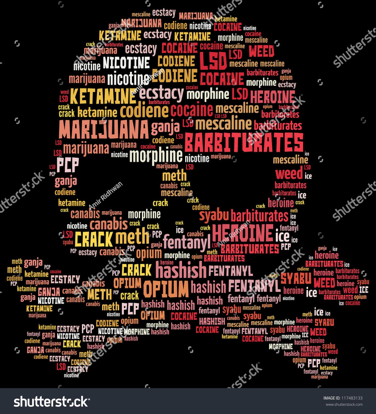 Drug Abuse Graphics Concept Stock Illustration 117483133 Shutterstock