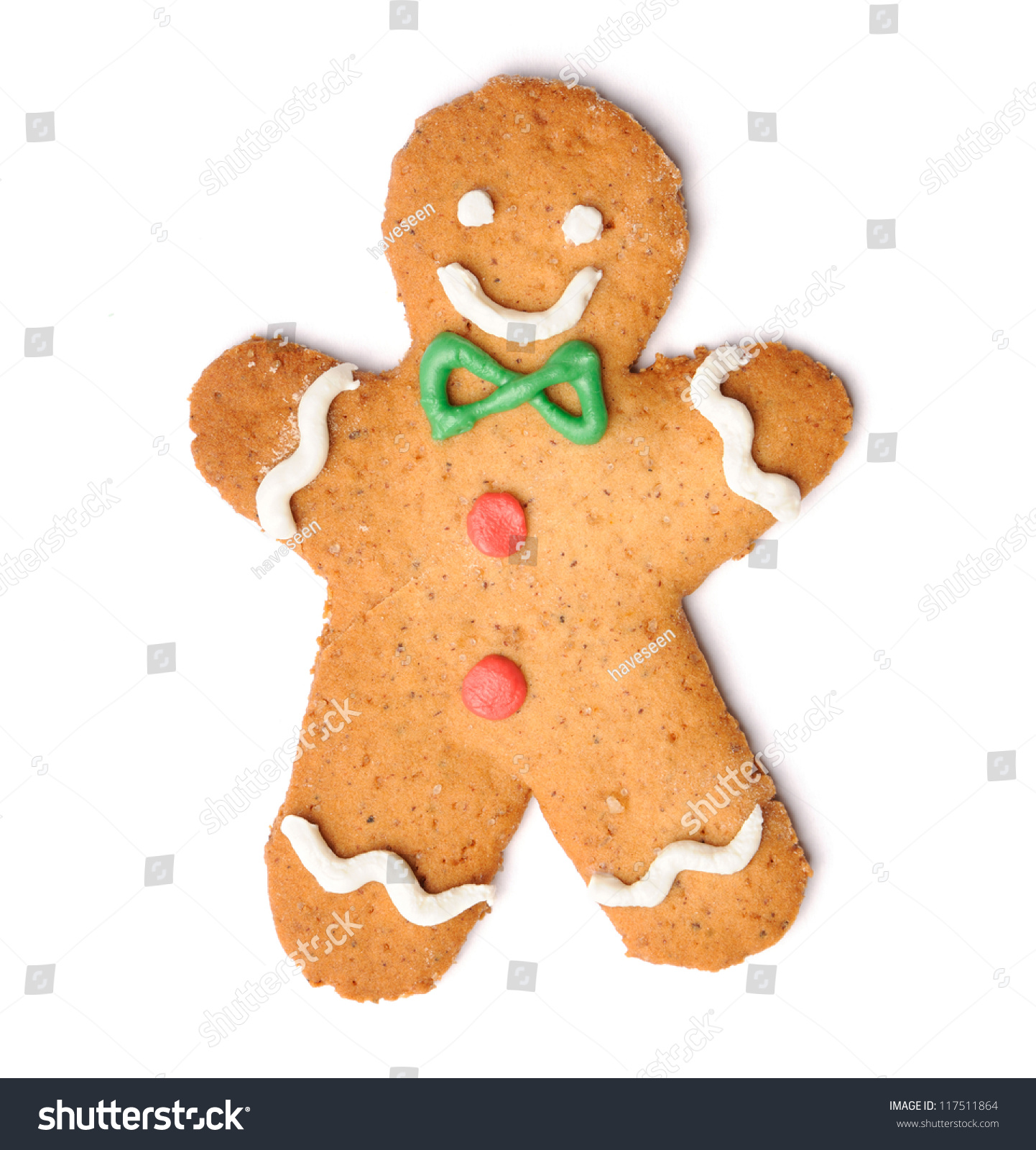 id 117511864 - Christmas Gingerbread Man