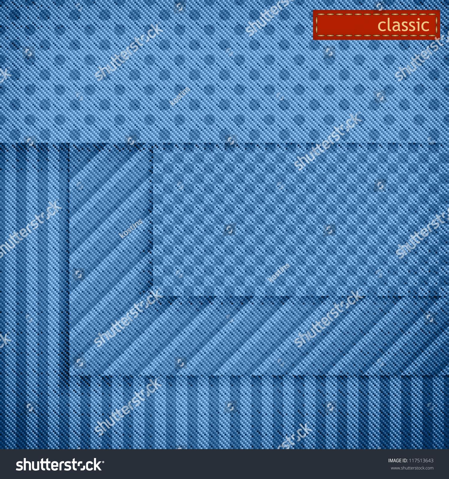Website Background Design Set Vector Fabric Stock Vector 117513643 ...