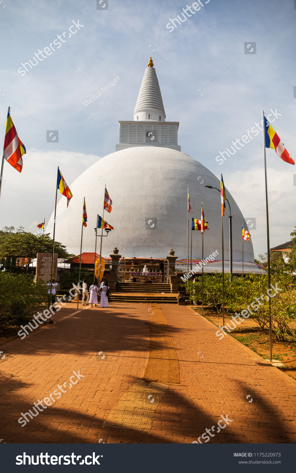 Sri Lanka Anuradhapura, acient city, Mahiyangana Stupa is the first stupa of ancient Sri Lanka