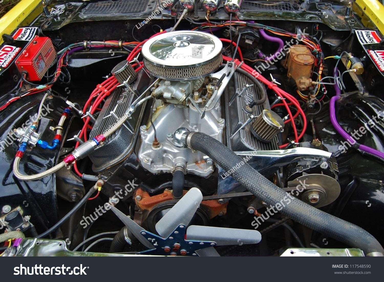 Frederick Md September 16 1969 Yellow Chevy Motor Engine On September 16 2012 In Frederick