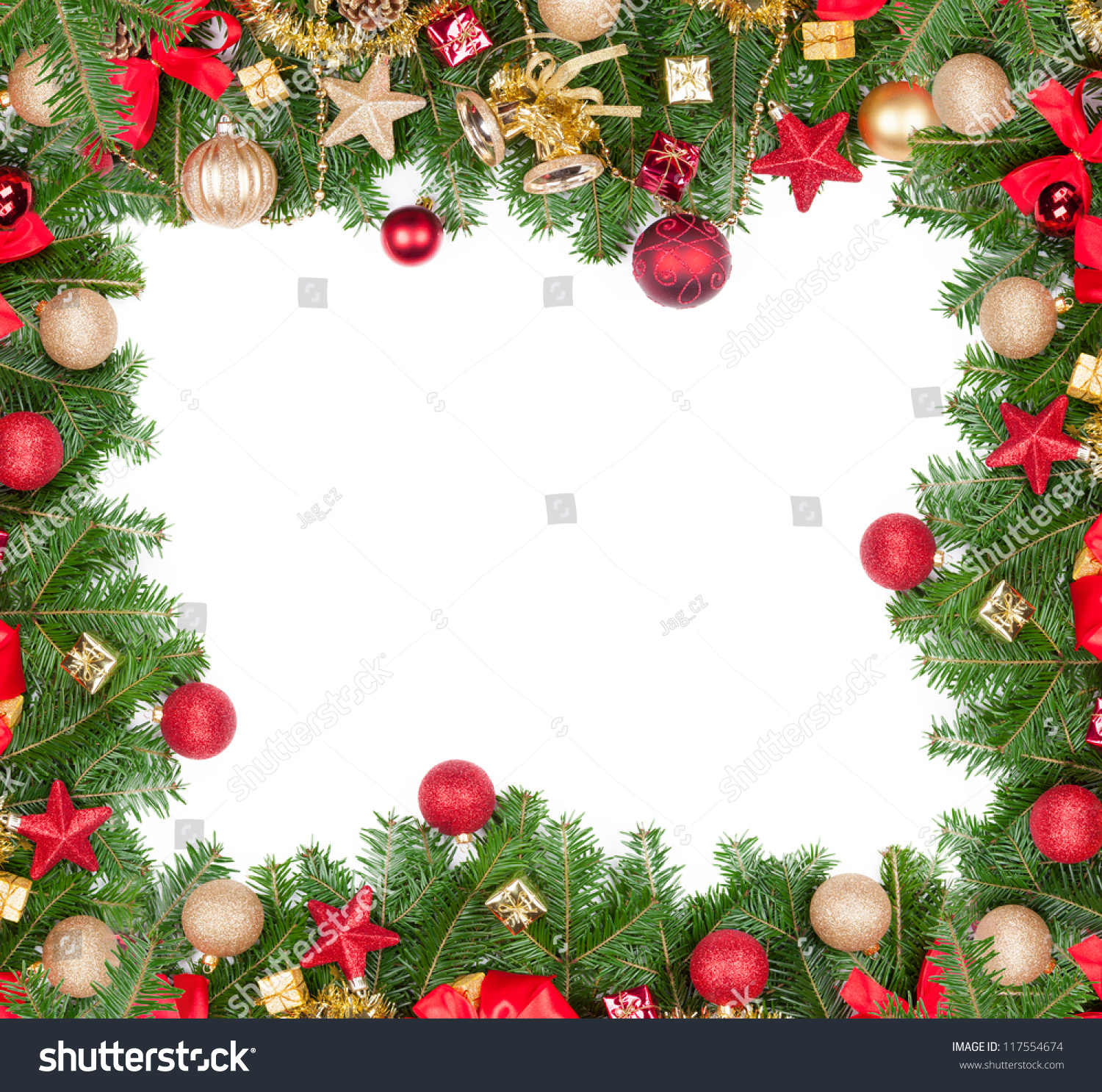 Christmas Frame Free Space Text Stock Photo (Edit Now)- Shutterstock