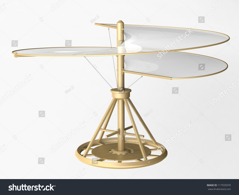 leonardo da vinci flying machine helicopter