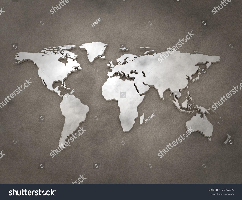 Triic World Map on