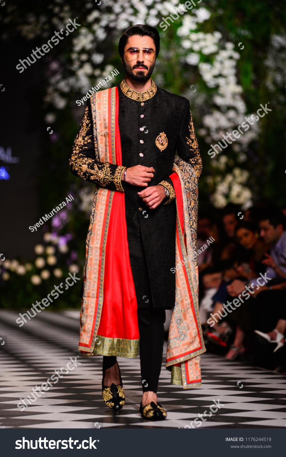 Pakistanlahore Models Presents Creation Pakistani Designer Beauty Fashion Stock Image 1176244519