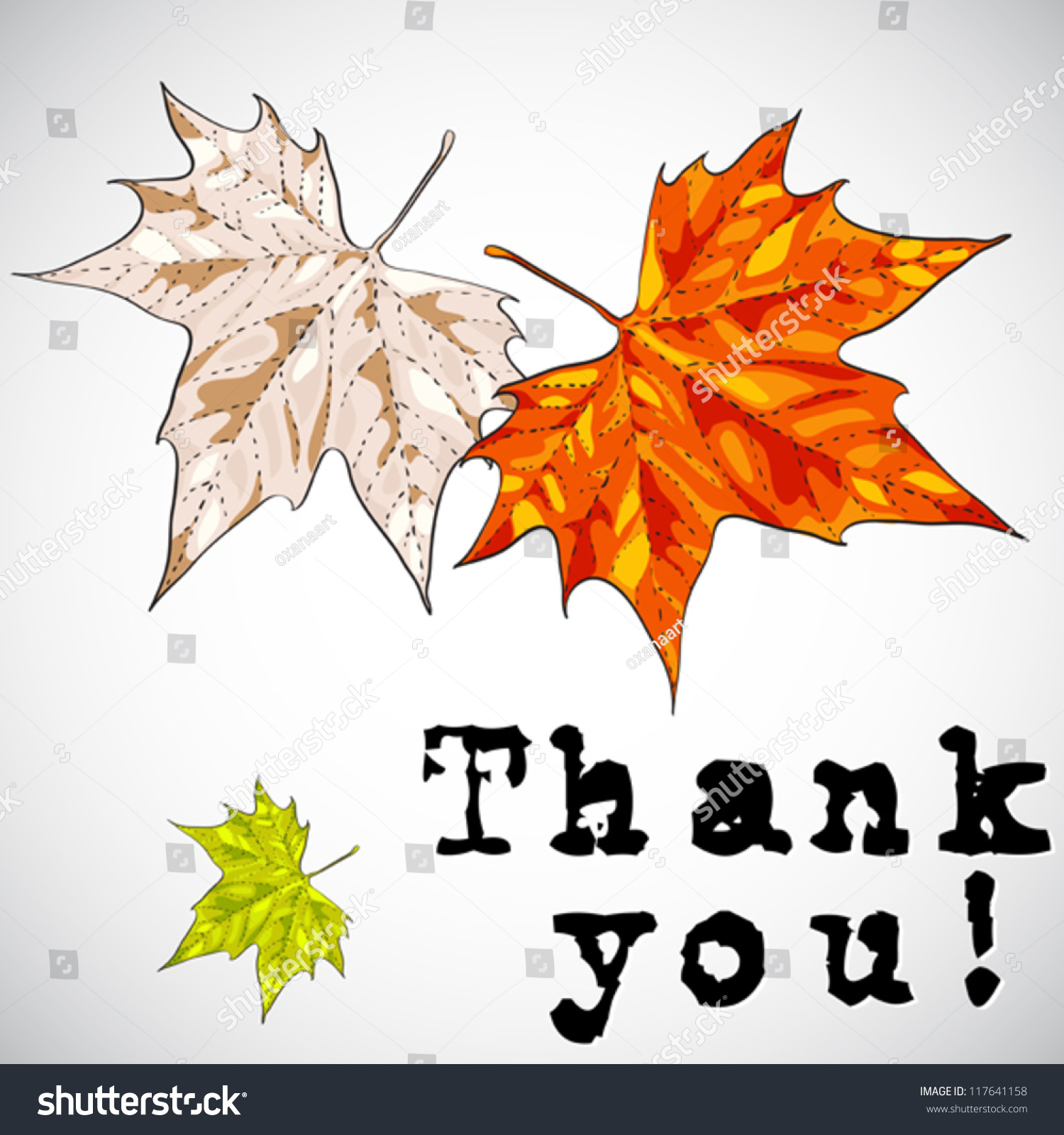 Thank you greeting card vector illustration stock vector 117641158 thank you greeting card vector illustration in hand drawn style kristyandbryce Images