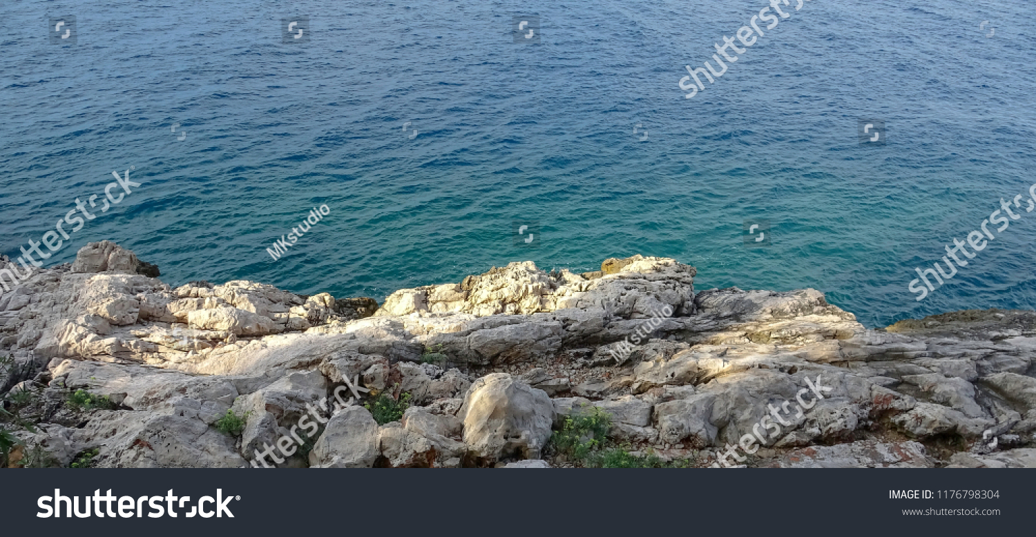 Beautiful Landscape and Sea in Croatia #1176798304