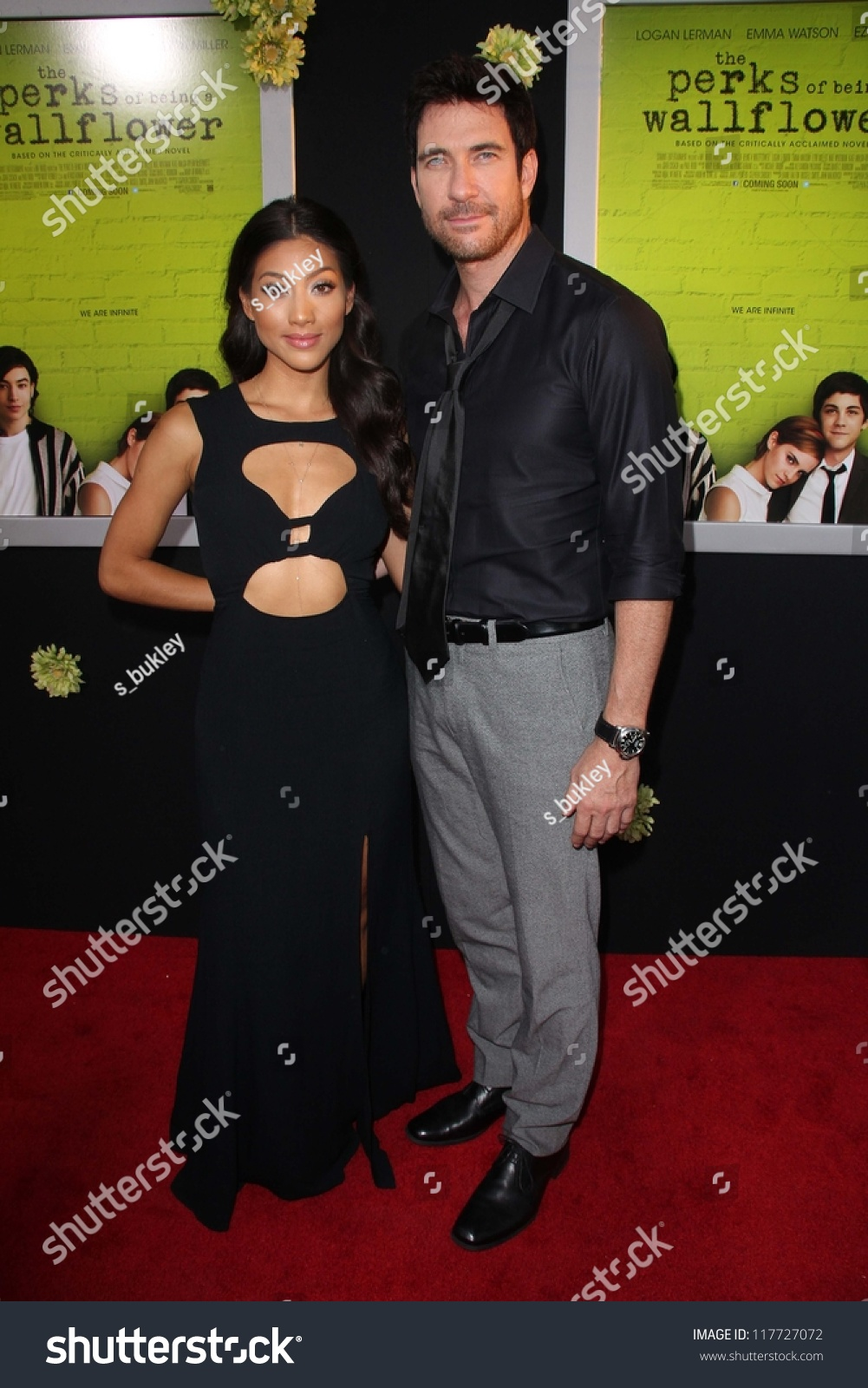 dylan mcdermott at quotthe perks of being a wallflowerquot los