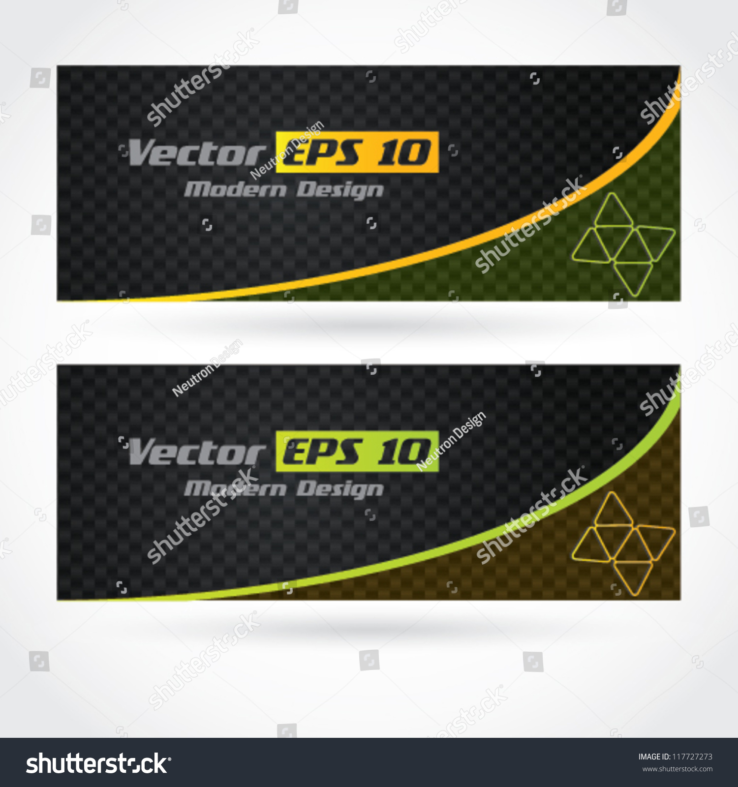 Vector modern business card banner design stock vector 117727273 vector modern business card banner design with carbon fiber texture magicingreecefo Gallery