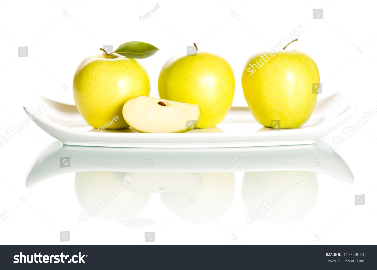 delicious green apple illustration - photo #49