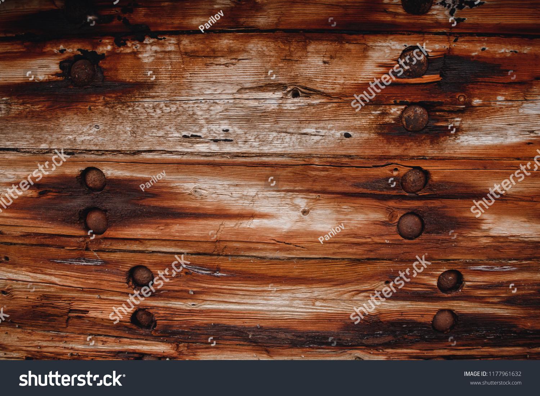 old ship nails