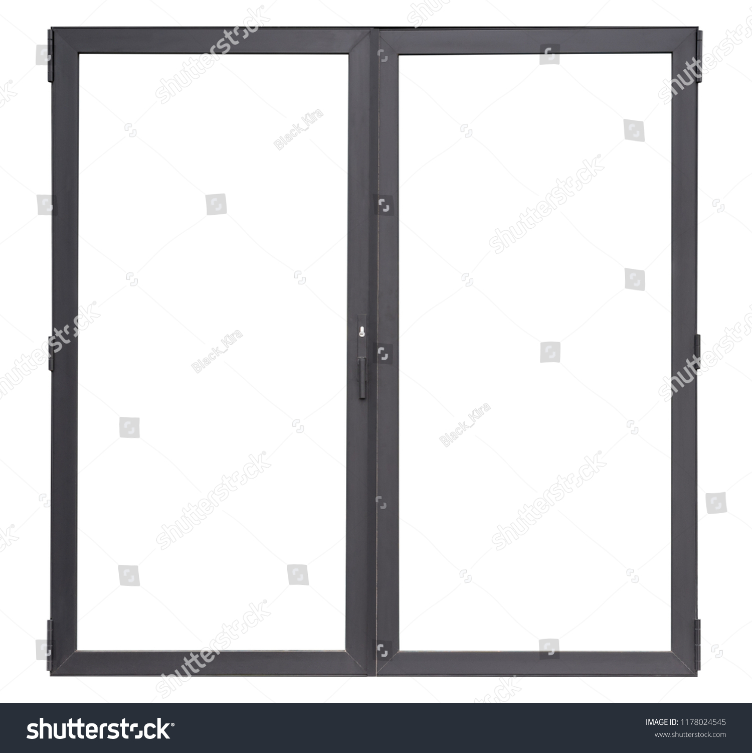 double glass window replacement double glass doors isolated on white background black aluminium office window frame for interior design glass doors isolated on white stock photo edit now