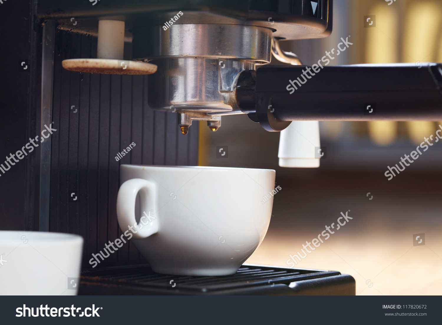 Coffee Maker Z Wave : Coffee Maker Machine Stock Photo 117820672 : Shutterstock