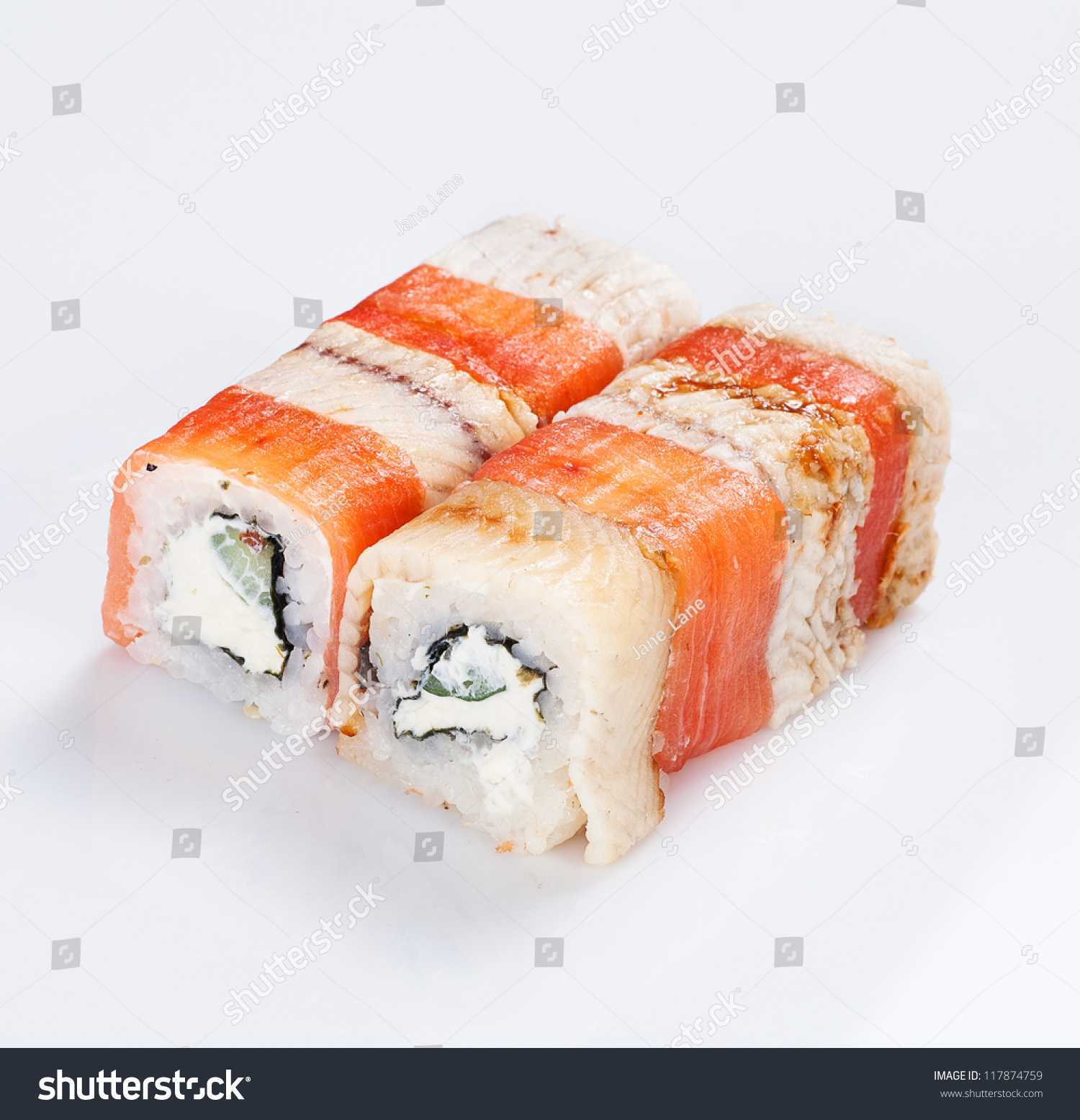 how to cook fish for sushi rolls