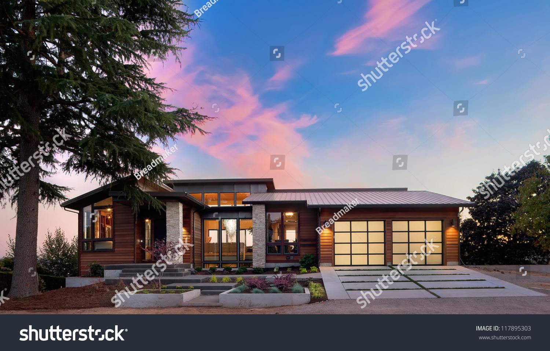 Beautiful Home Exterior Stock Photo 117895303 Shutterstock