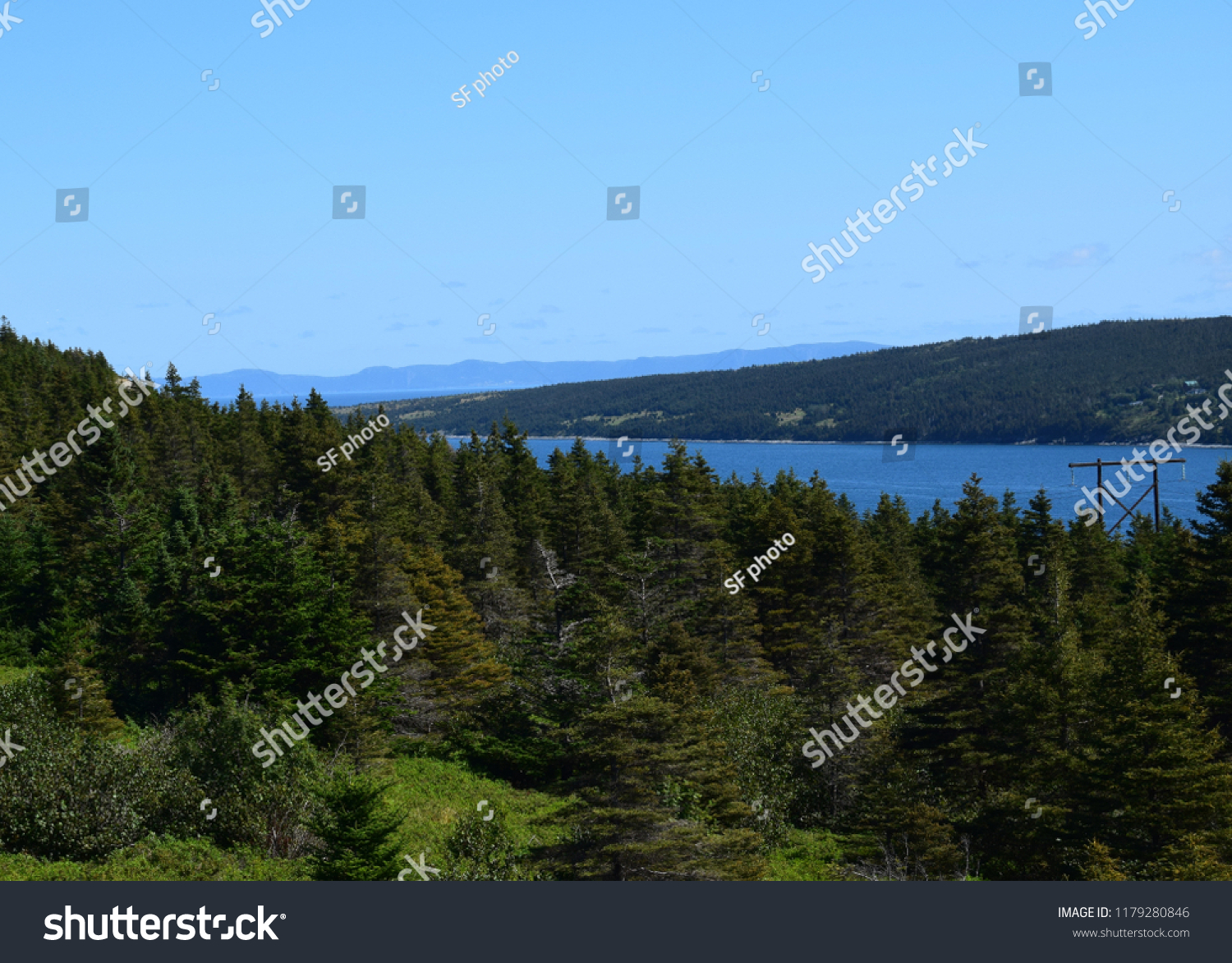 Landscape Along Baccalieu Trail Conception Bay Stock Photo Edit Now