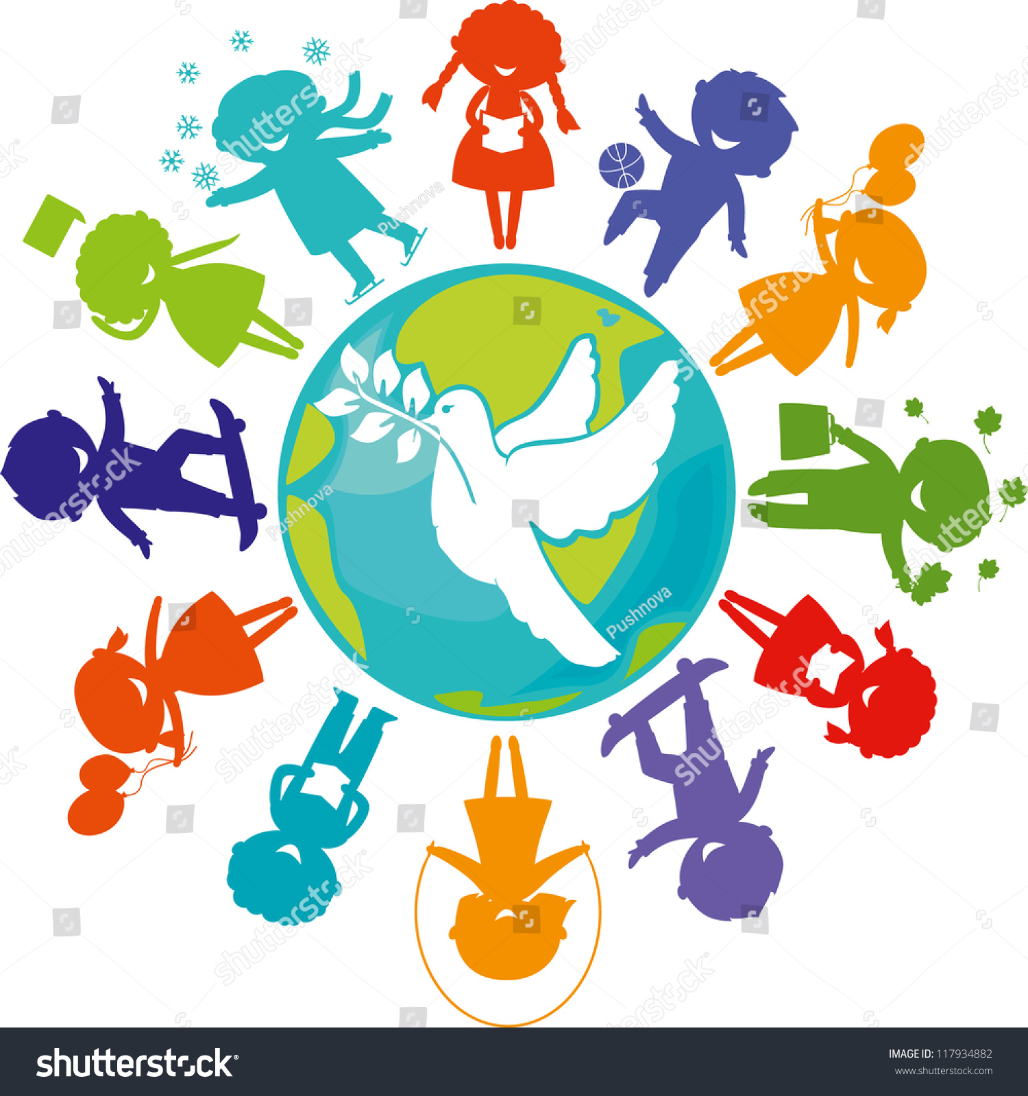 world peace posters for kids