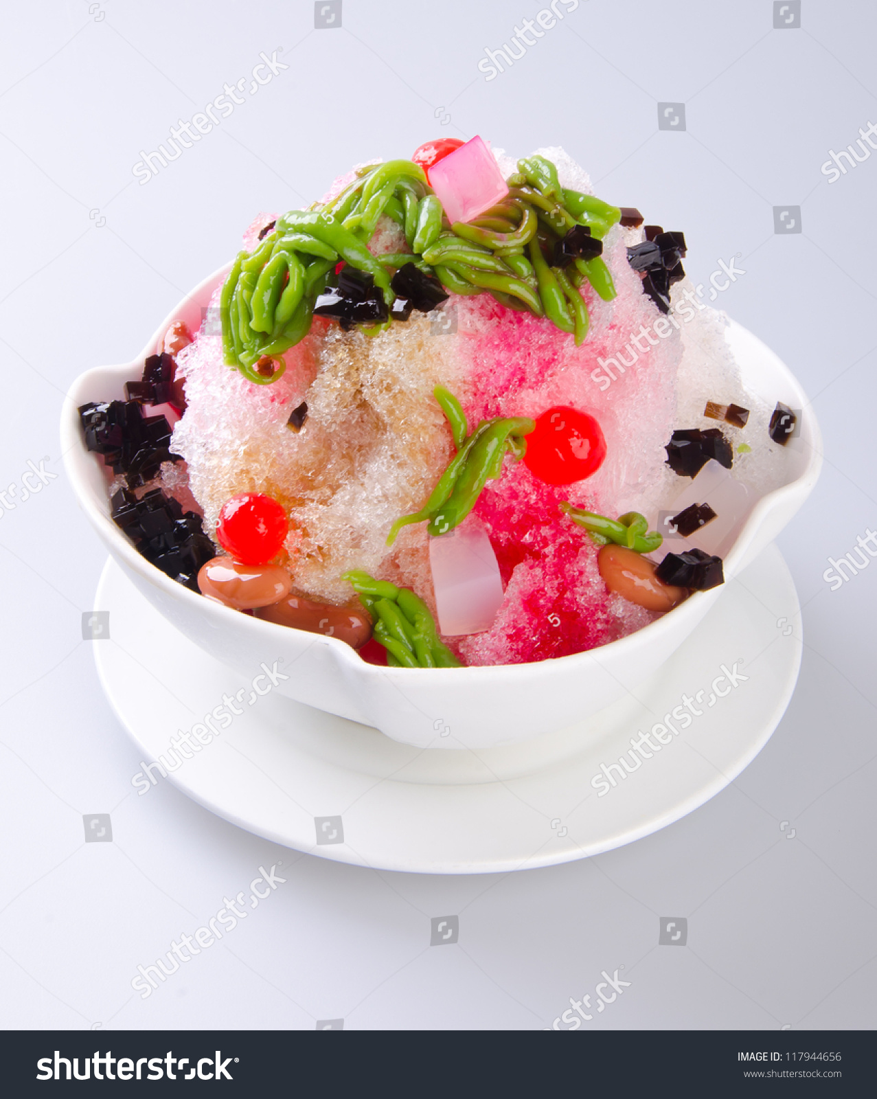 Support asian shaved ice