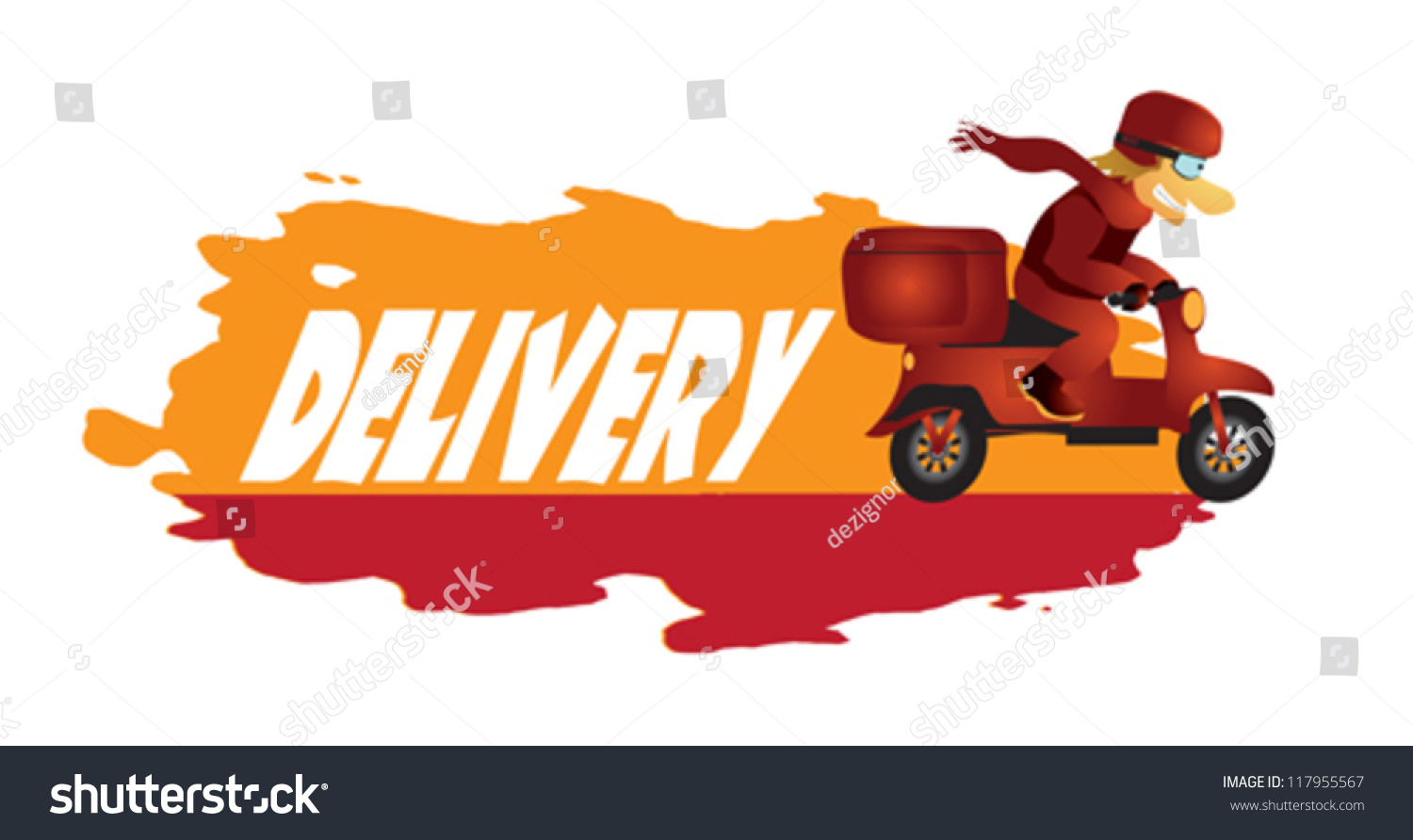 delivery boy on scooter hurry deliver stock vector motorcycle vector clip art motorcycle vector free