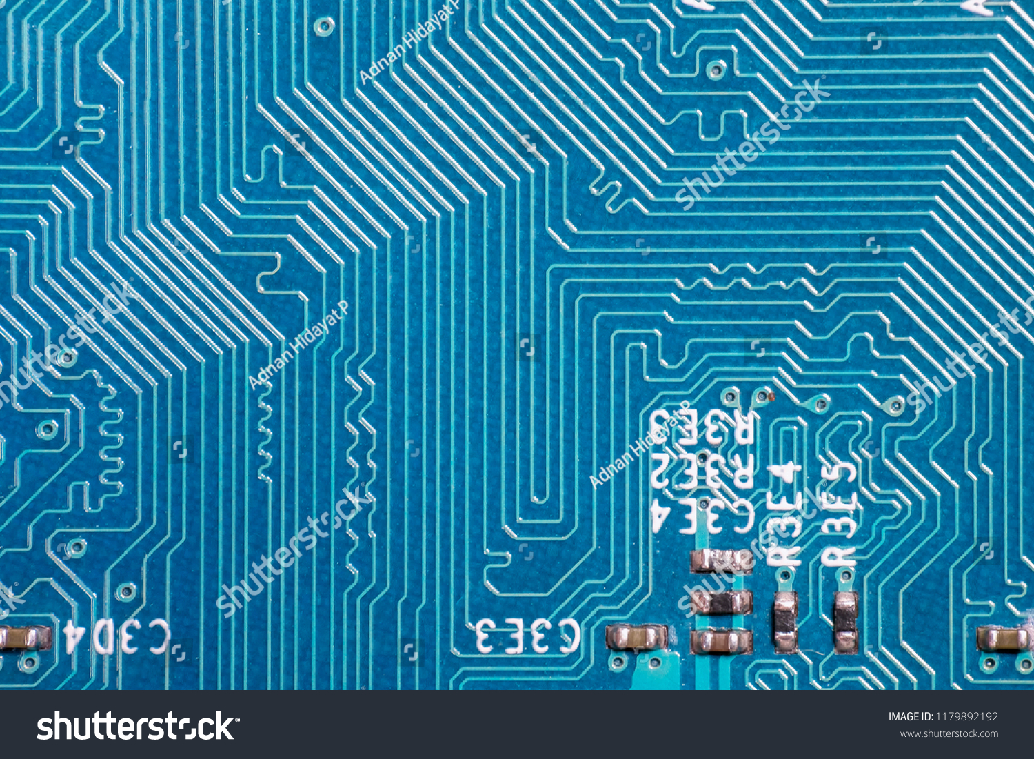 Photo Printed Circuit Board Pcb Stock Edit Now How To Make Electronic Boards Of Path Pattern On Device The