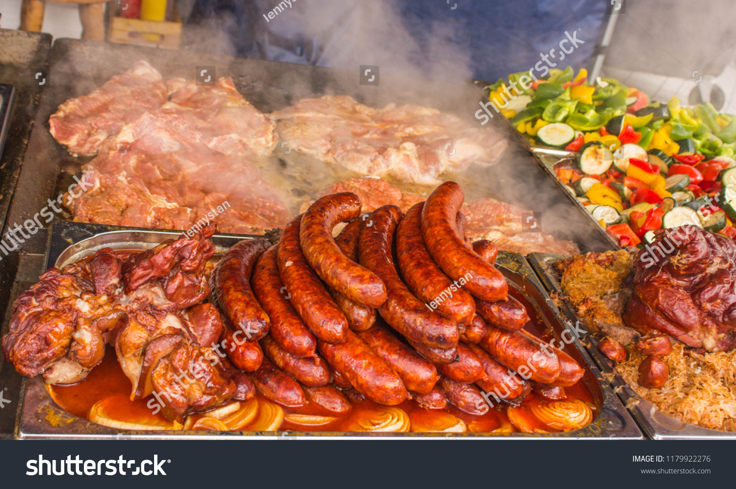 stock-photo-street-food-grilled-sausage-