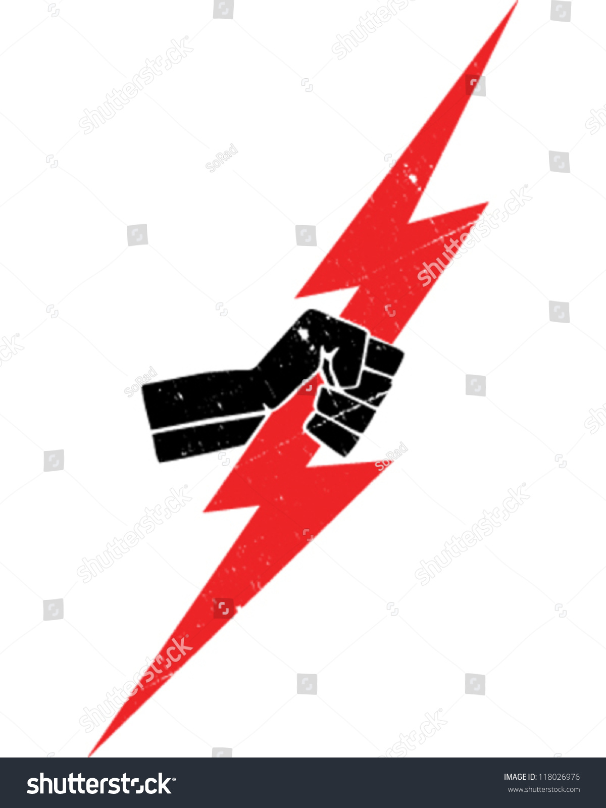 Lightning bolt stock vector 118026976 shutterstock lightning bolt buycottarizona Image collections