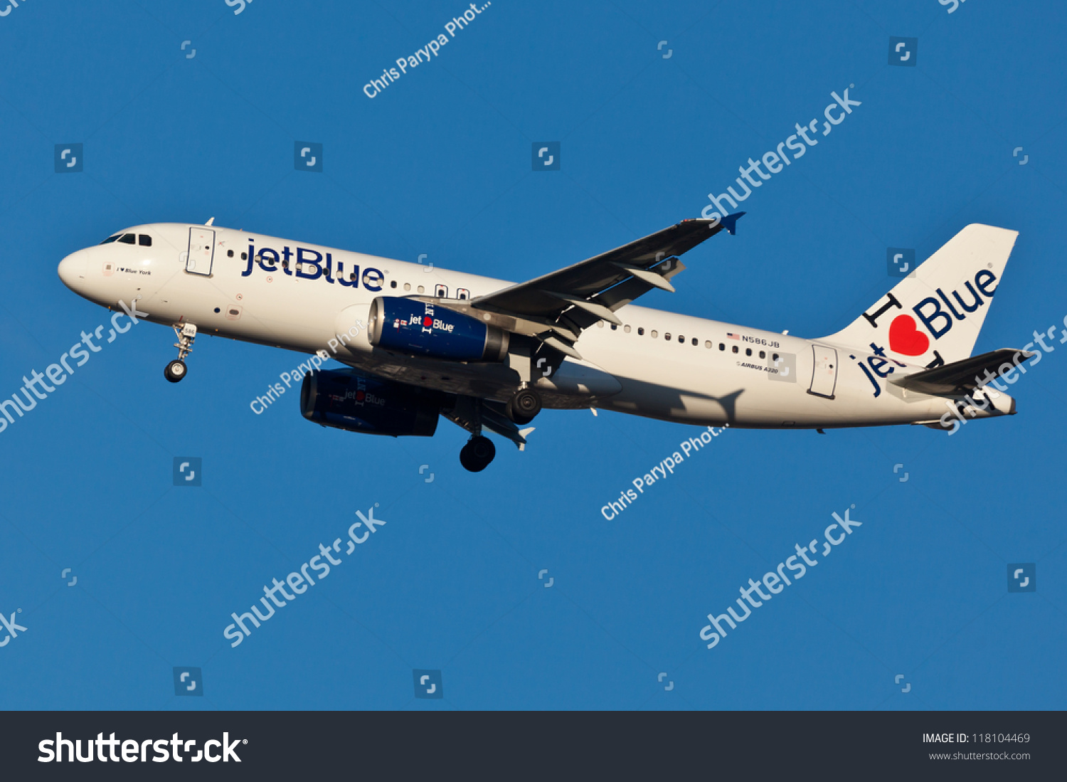 New York March 20 A 320 Jet Blue Stock Photo Edit Now 118104469