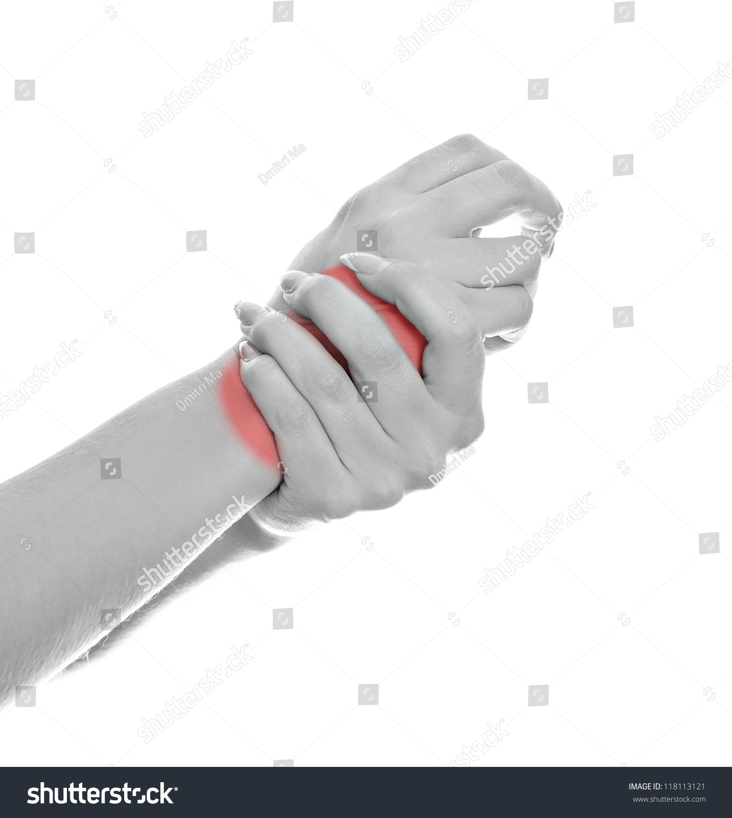 Pain when clenching fist agree