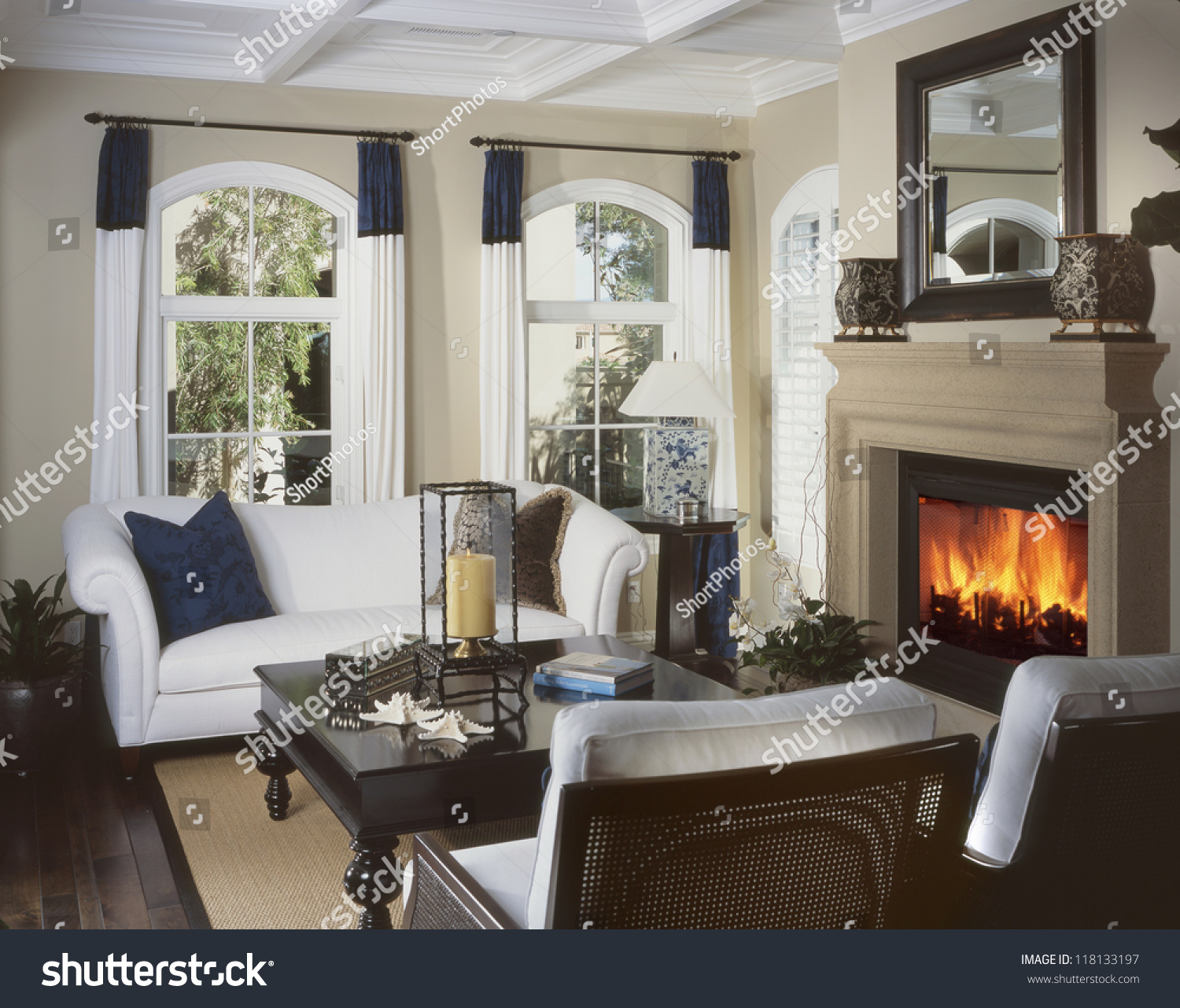 Beautiful living room architecture stock images photos of for Living room images
