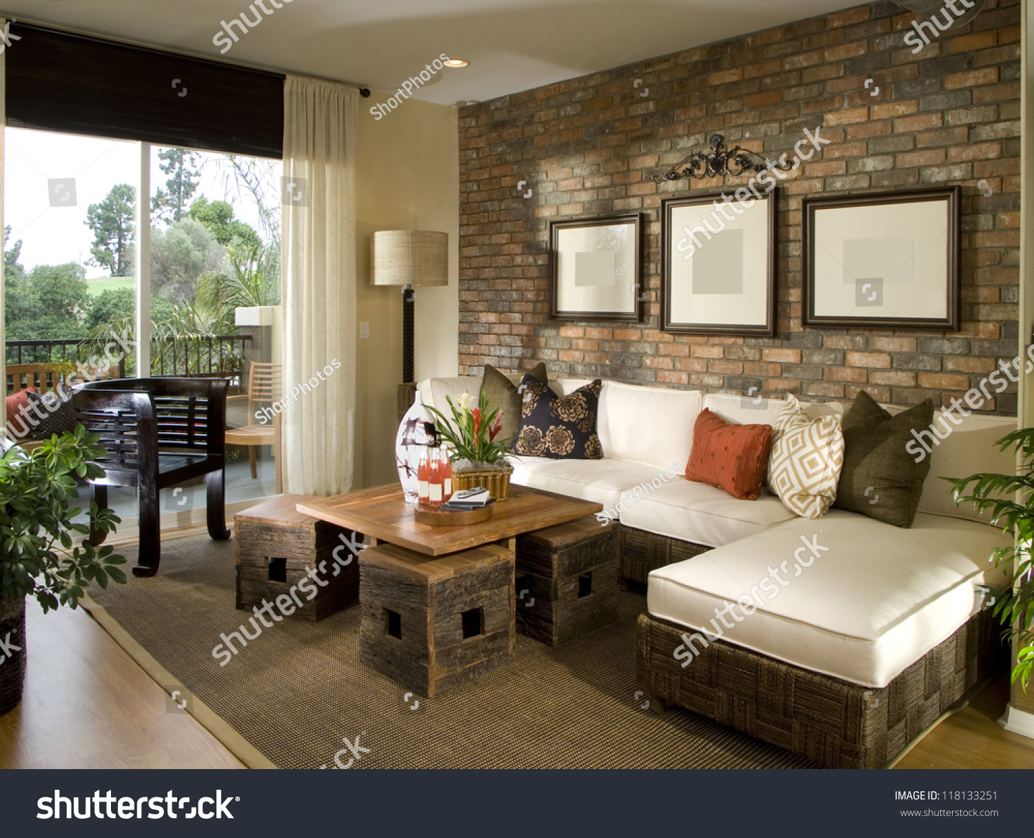 Beautiful living room architecture stock images stock - Interior of living room pictures ...