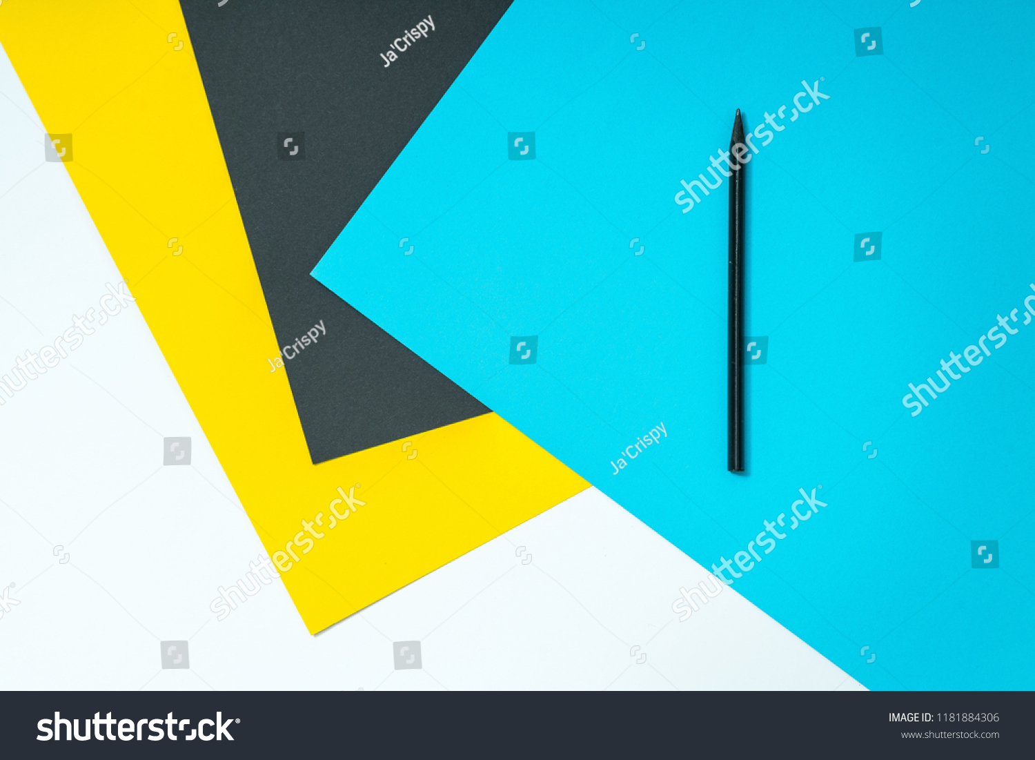Abstract Color Paper Colorful Papers Background Stock Photo Edit