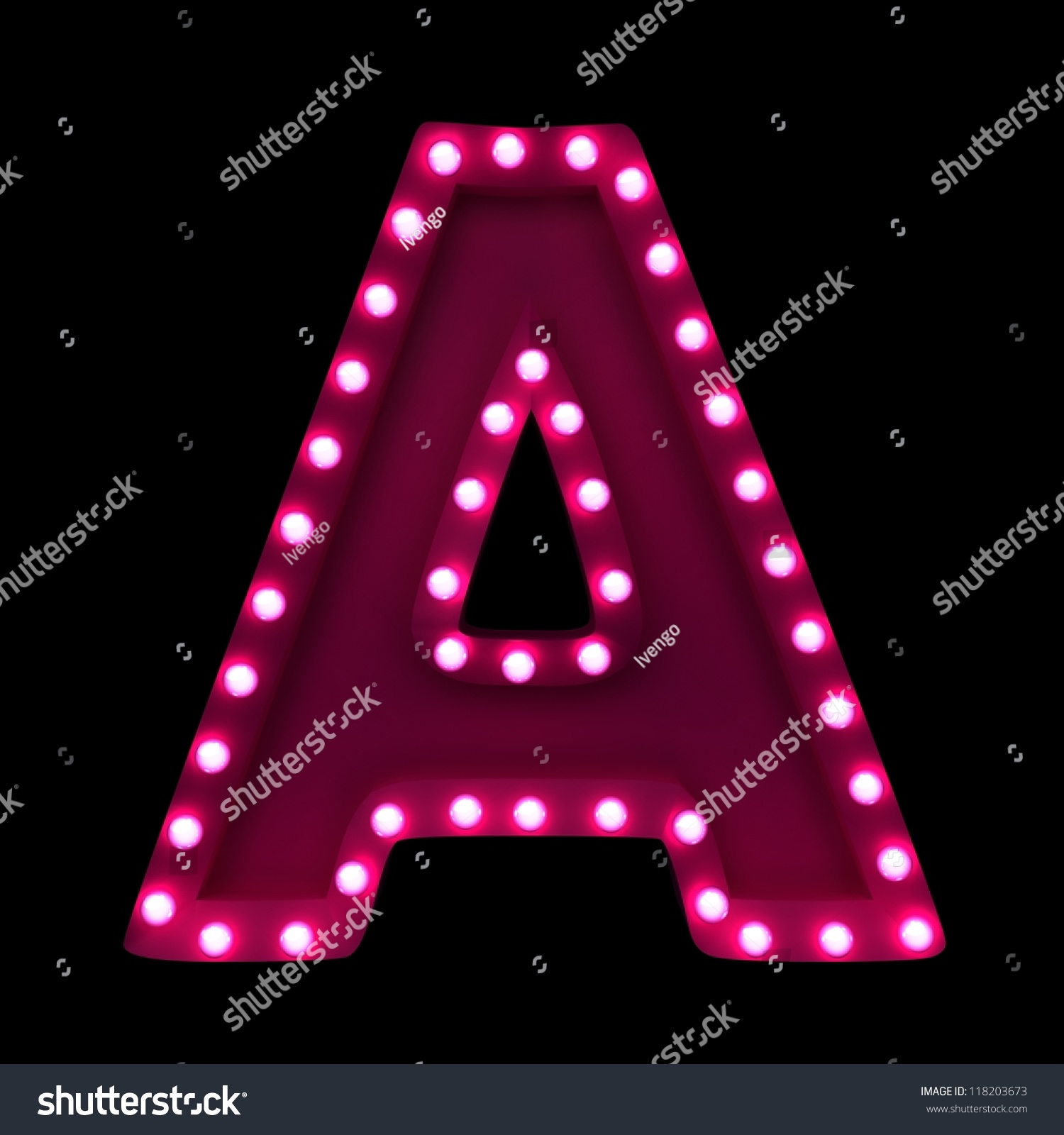 printable capital letters. the letter a by lite brite neon. the ...